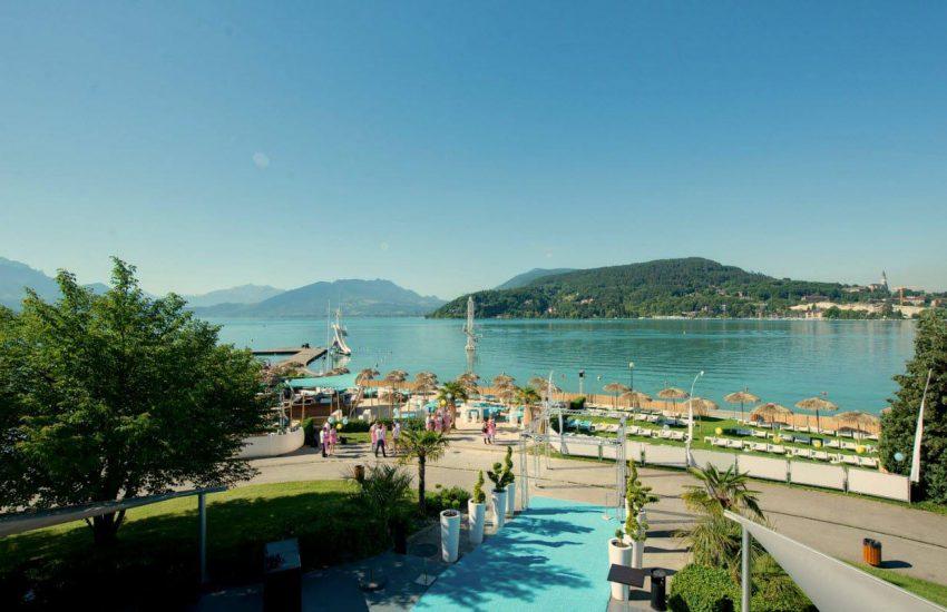 Création de plage privée Annecy