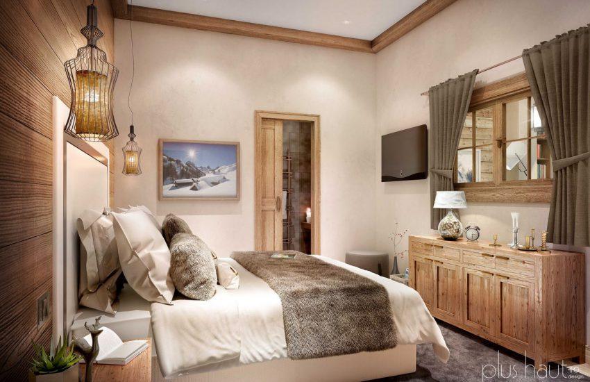 Décoration appartement Les Arcs 1800