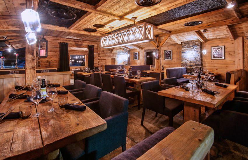 Amenagement restaurant La Clusaz